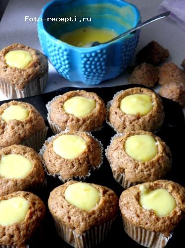 Лимонные капкейки рецепт с фото пошагово