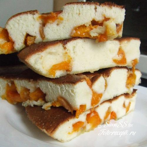 шарлотка с абрикосами рецепт приготовления