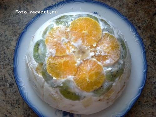 фруктовая  горка
