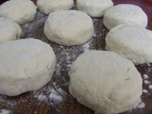 Los pasteles de queso con pasas