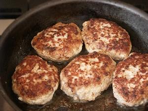 Рецепт котлет из говядины и свинины с картофелем