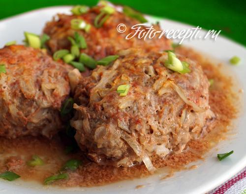 рецепт голубцов с фаршем и рисом с фото пошагово