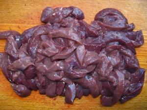 печень говяжья в сметане рецепты с фото пошагово