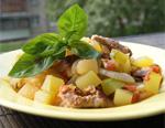 Рагу из кабачков с мясом