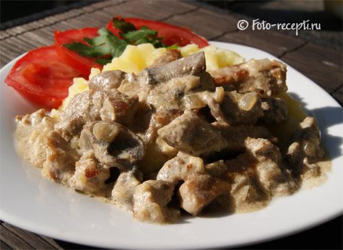 соус с грибами для мяса рецепт с фото