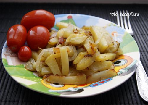 с чем приготовить жареную картошку