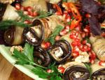 Рецепт рулетиков из баклажанов пошаговый с фото