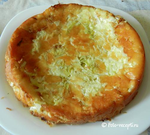 Капустный пирог юлии миняевой