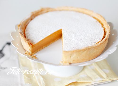 рецепт пирога с лимоном пошаговое