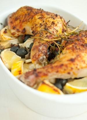 Pollo con pimentón y limón