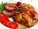 Перепела с яблоками в кисло-сладком соусе рецепт приготовления пошаговый с фотографиями