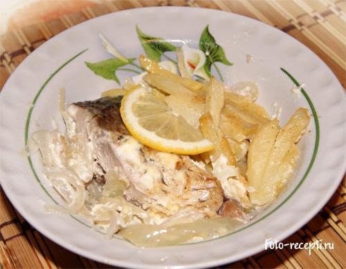 Рецепт приготовления рыбы в майонезе