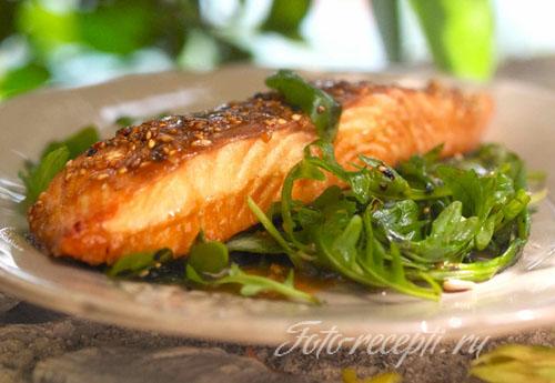 Приготовление лосося в духовке рецепты