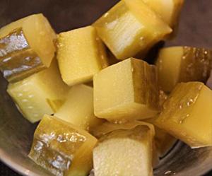 Винегрет рецепт с горошком и огурцом