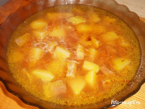 Рецепт приготовления супа