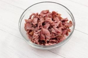 Срезаем мясо