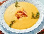 Рецепт приготовления  горохового супа-пюре с копченостями