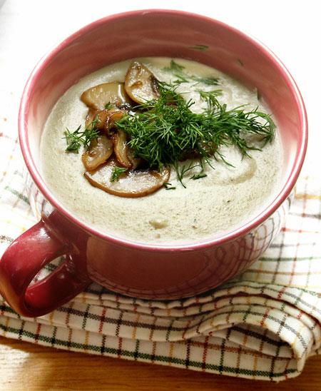 суп грибной из шампиньонов рецепт пошаговый с фото