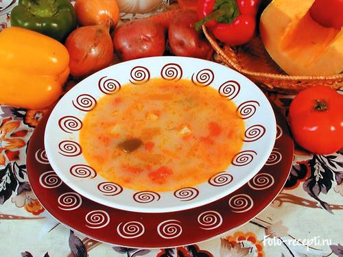 суп с тыквой рецепты простой рецепт
