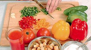 рецепты томатного супа с гренками