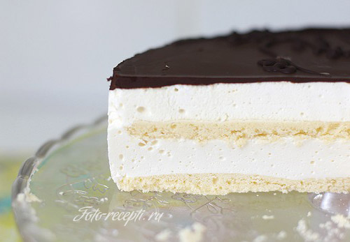 Торт птичье молоко суфле в домашних условиях рецепт пошагово
