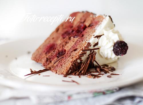 Шварцвальдский вишневый торт (Черный лес)
