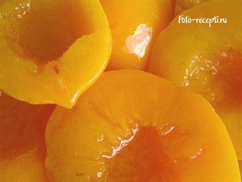 Консервированные персики - рецепт домашней заготовки