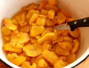 из Рецепт персиков варенье