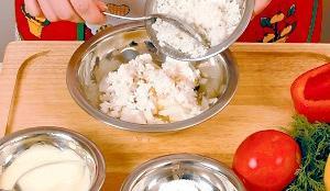 Receta de pimientos rellenos de arroz y verduras