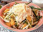 Что приготовить на День Рождения. Рецепт приготовления салата из курицы с апельсинами