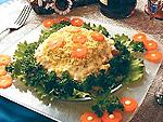 Что приготовить на День Рождения. Рецепт приготовления салата  «Мимоза»