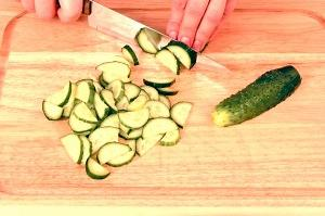 Receta de Ensalada de pasta y verduras