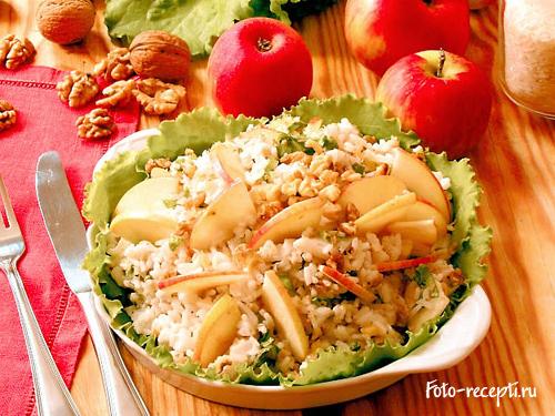 Салат из яблок фото рецепты