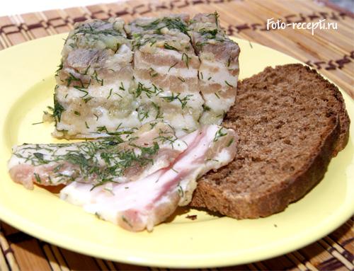 Грудинка на завтрак – кулинарный рецепт