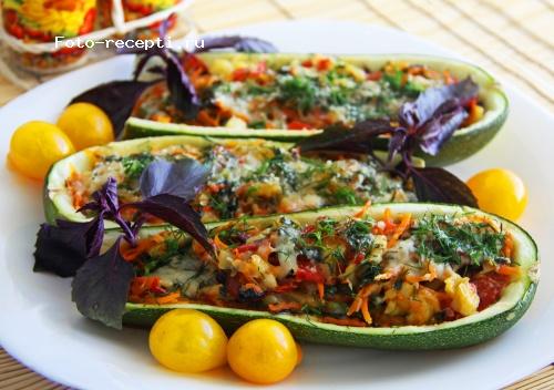 гарнир из овощей рецептура